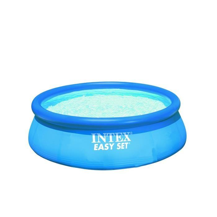 Intex intex easy set piscine ronde autostable x 0 for Kit piscine intex