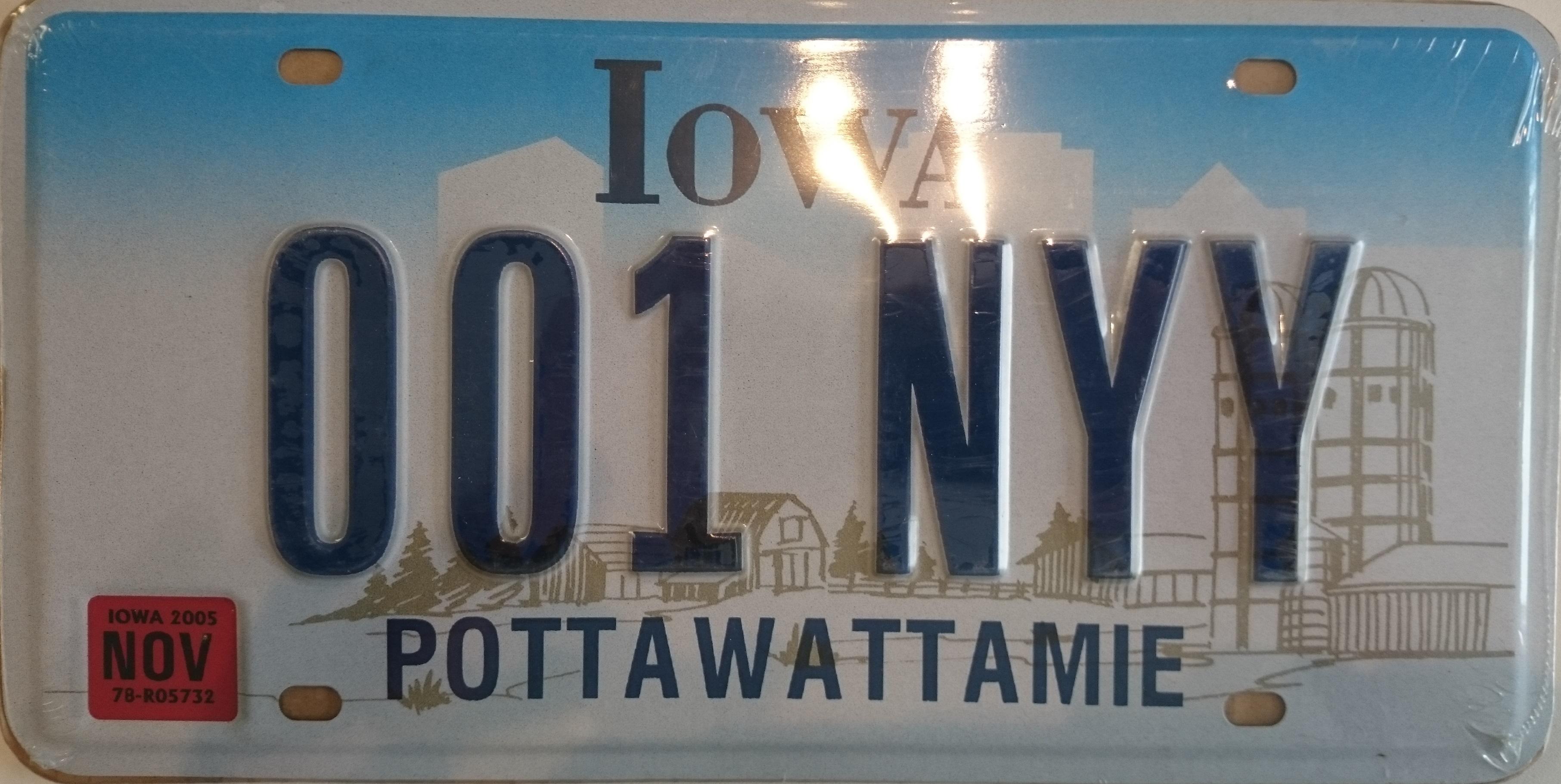 plaques immatriculation adnauto plaque usa iowa. Black Bedroom Furniture Sets. Home Design Ideas