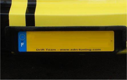 Adnautomid 2 plaques immatriculation plexiglass adn garage 59336 - Garage plaque immatriculation ...