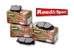 Plaquettes Peugeot OMP - Plaquettes Road-And-Sport pour 206 RC - ap03 - AV