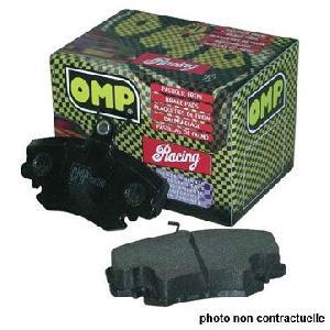 omp plaquettes de freins racing 971c pour renault clio 3. Black Bedroom Furniture Sets. Home Design Ideas
