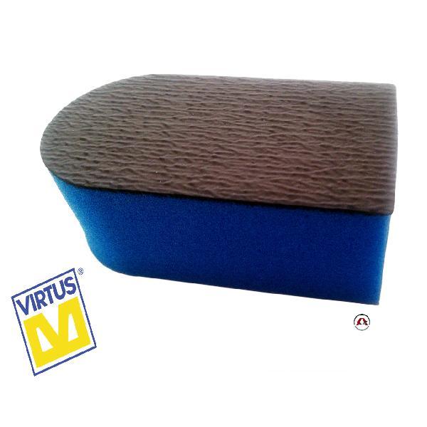 Polysponge - Eponge 2 faces - Special lustrage - 60x40x110mm - Virtus