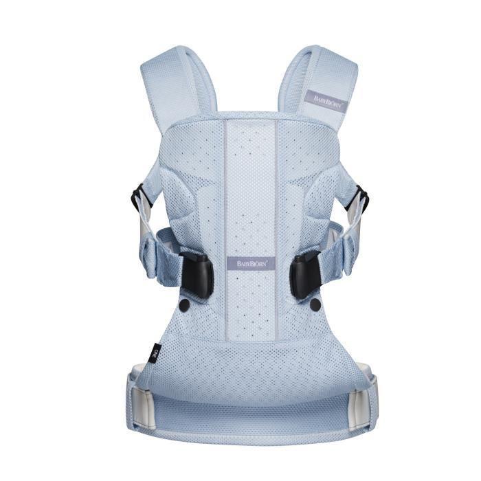 babybjorn babybjorn porte bebe one air bleu clair mesh 336333. Black Bedroom Furniture Sets. Home Design Ideas