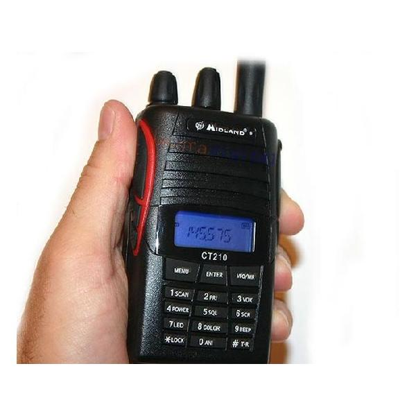 POSTE VHF MIDLAND CT210 144-146MHZ 4W TERRESTRE PIECE