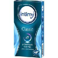 Preservatifs ADNAutoMID - Boite de 7 preservatifs INTIMY