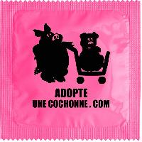Preservatifs Callvin - 1 X preservatif Adopte Une Cochonne