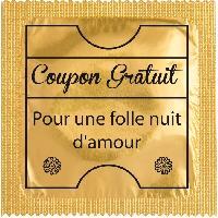 Preservatifs Callvin - 1 X preservatif Coupon Gratuit pour une folle nuit
