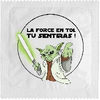 Preservatifs Callvin - 1 X preservatif La Force En Toi Tu Sentiras
