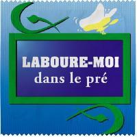 Preservatifs Callvin - 1 X preservatif Laboure-Moi dans le Pre