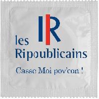 Preservatifs Callvin - 1 X preservatif Les Ripoublicains