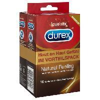 Preservatifs Durex - 16 Preservatifs Natural Feeling