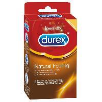 Preservatifs Durex - 8 Preservatifs Natural Feeling