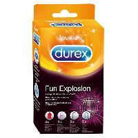 Preservatifs Durex - Preservatifs Fun Explosion 10pcs