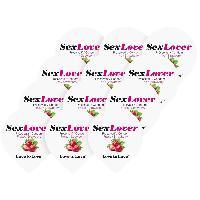 Preservatifs Love To Love - Preservatifs Sex Lover saveur Fraise - 12 pieces
