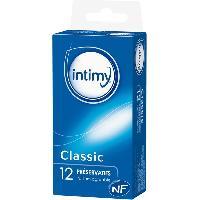 Preservatifs LRDP - 12 Preservatifs INTIMY