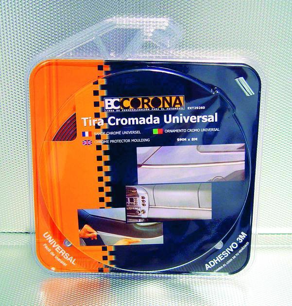 adnauto bande chromee adhesive 9mm x 8m 3m bc corona 14886. Black Bedroom Furniture Sets. Home Design Ideas
