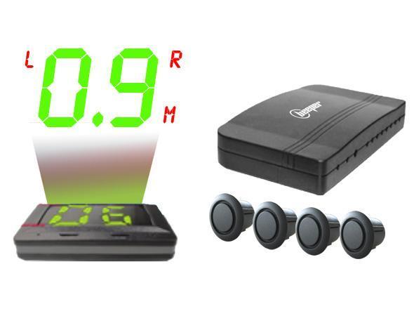 re431huds radar de recul avec afficheur sur pare brise systeme magic hud 86146. Black Bedroom Furniture Sets. Home Design Ideas