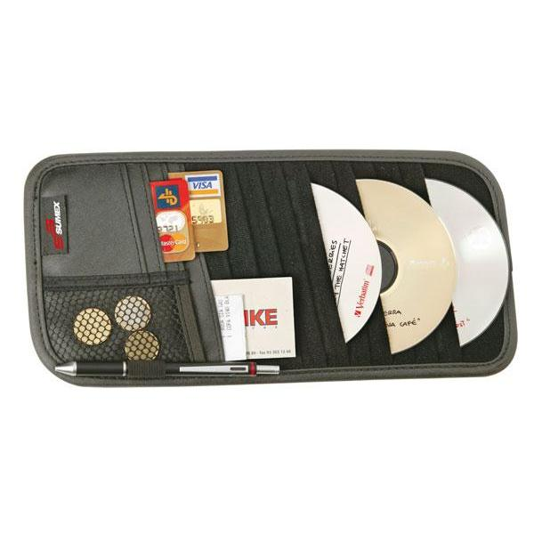 Rangement CD pare soleil