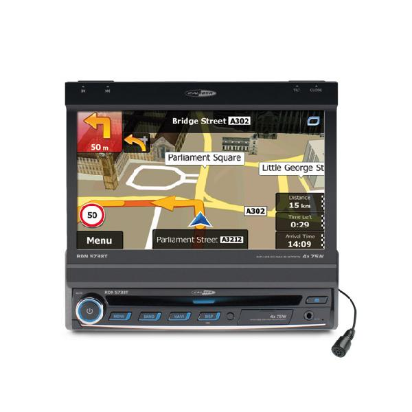 RDN573BT - Autoradio DVD/USB/SD/NAVI - syntoniseur FM/AM. navigation et technologie sans fil Bluetooth