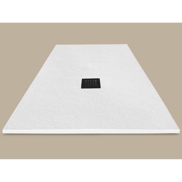 mitola mitola receveur en r sine composite liwa 120x90 blanc 266615. Black Bedroom Furniture Sets. Home Design Ideas