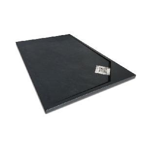 mitola mitola receveur en r sine composite oasis 120x80 anthracite 266630. Black Bedroom Furniture Sets. Home Design Ideas