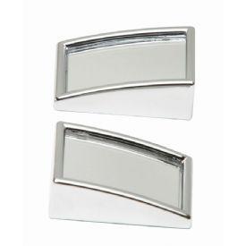 2 mini miroirs rectangulaires pour angle mort a coller sur le retroviseur 128661. Black Bedroom Furniture Sets. Home Design Ideas