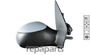 retroviseur adnautomid 206 03 06 droit sond. Black Bedroom Furniture Sets. Home Design Ideas