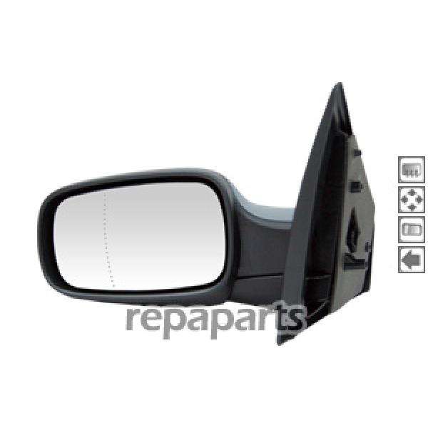 Retroviseur exterieur Renault Clio III 05-09 - Cote Gauche - Electrique [Voiture : Renault > Clio > Clio III (06-12)]