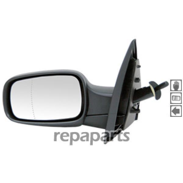 Retroviseur exterieur Renault Clio III 05-09 - Cote Gauche - Manuel [Voiture : Renault > Clio > Clio III (06-12)]