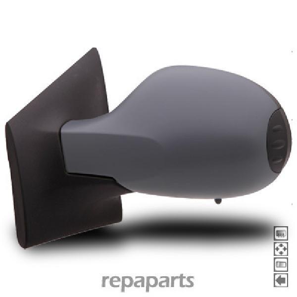 Retroviseur exterieur Renault Twingo II gauche electrique chauffant coque grise