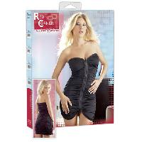 Robes bustier Cottelli - Robe tube plissee fermeture eclair - Taille L