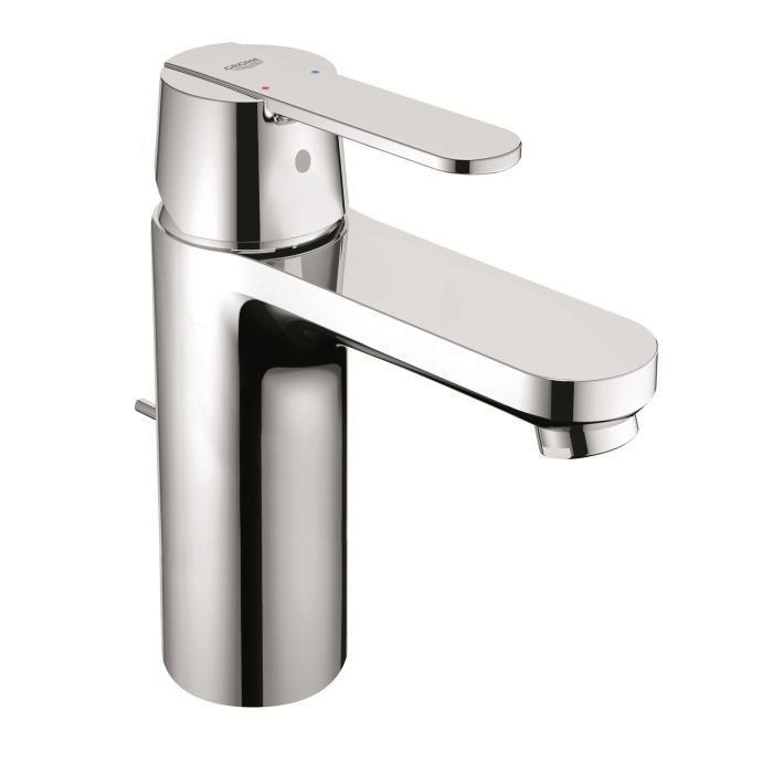 Grohe grohe mitigeur monocommande lavabo bec medium get for Robinetterie salle de bain grohe