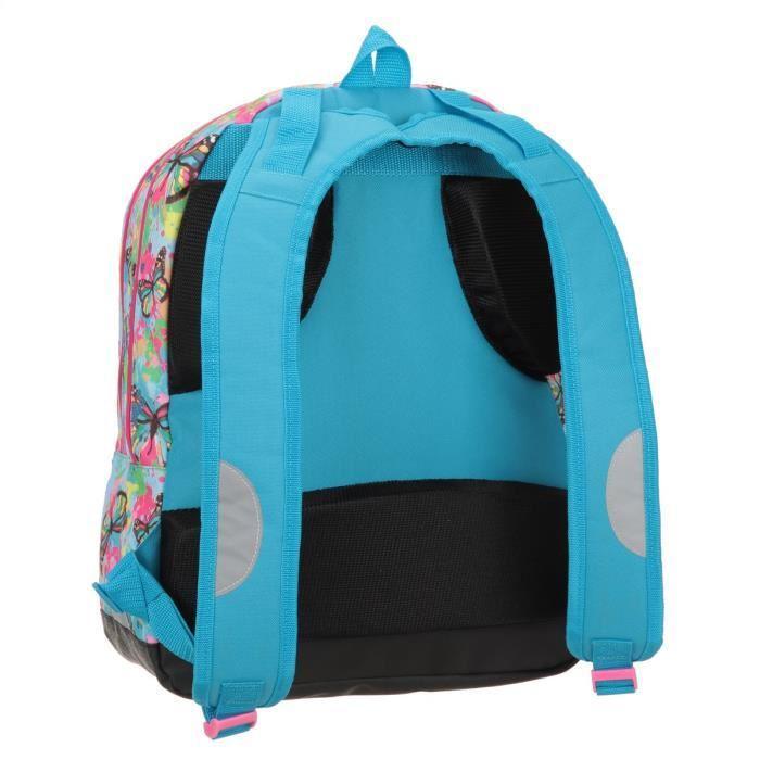 icu sac a dos borne scolaire avec led clairante 2 compartiments 6 a 11 ans classe. Black Bedroom Furniture Sets. Home Design Ideas