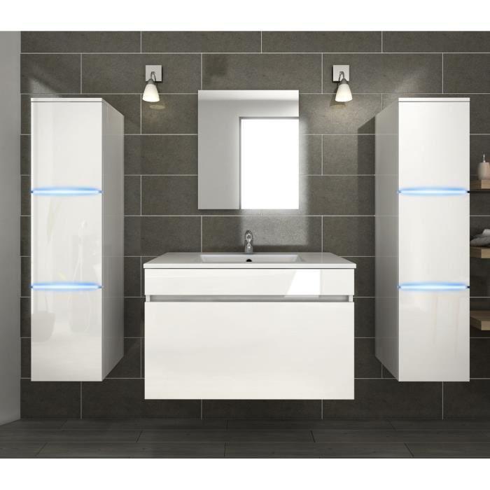 Neptune salle de bain complete simple vasque 80 cm avec for Vasque salle de bain 80 cm