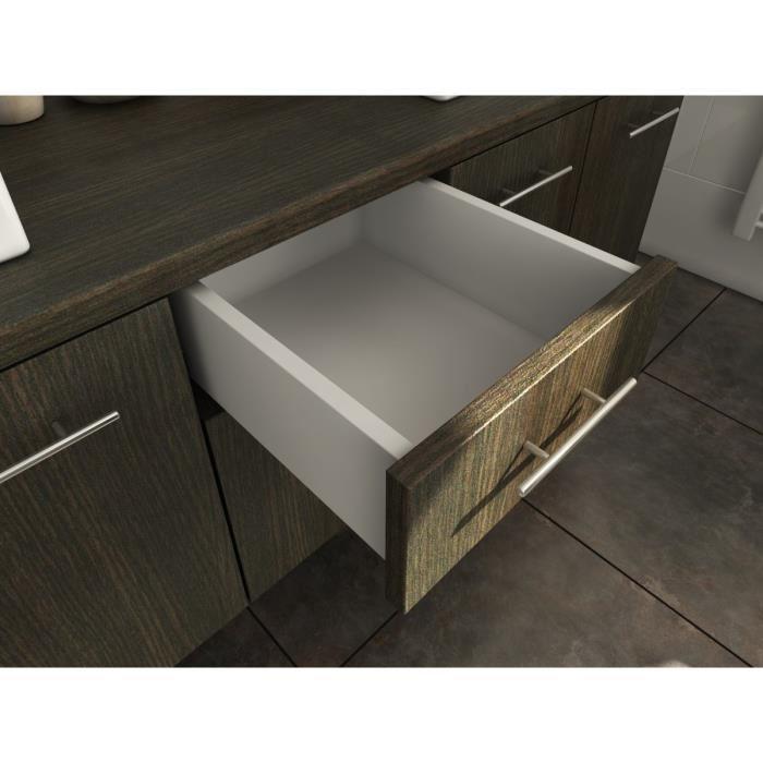 aucune olga ensemble double vasque 150 cm wenge luisiana 264267. Black Bedroom Furniture Sets. Home Design Ideas