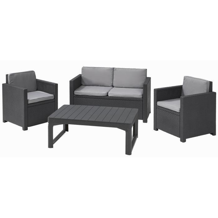 awesome table de jardin imitation resine photos. Black Bedroom Furniture Sets. Home Design Ideas