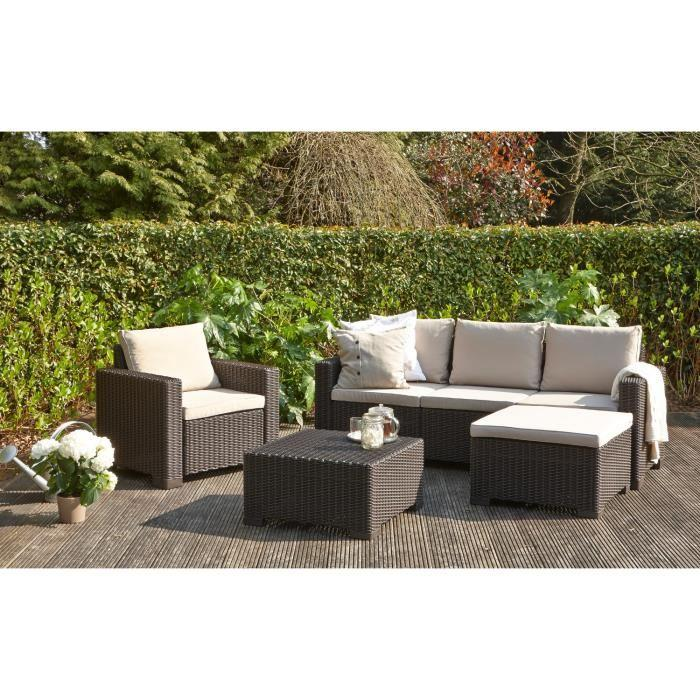 Best salon de jardin en rotin allibert pictures amazing - Salon de jardin allibert hawaii lounge set ...