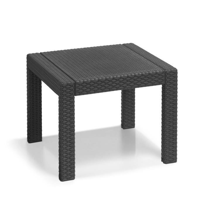 allibert rosario salon de jardin 2 places aspect rotin 254353. Black Bedroom Furniture Sets. Home Design Ideas