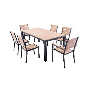 Beautiful Salon De Jardin Ensemble Table Chaise Fauteuil Aucune Cm With Et Aluminium