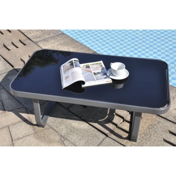 aucune salon de jardin macadamia 4 places table basse 266883. Black Bedroom Furniture Sets. Home Design Ideas