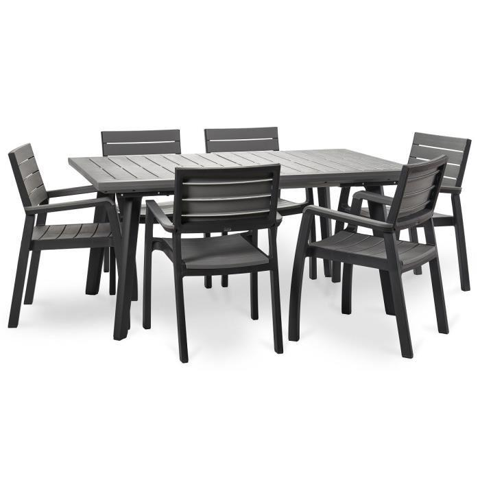 keter ensemble harmony extension table 160 240cm 6. Black Bedroom Furniture Sets. Home Design Ideas