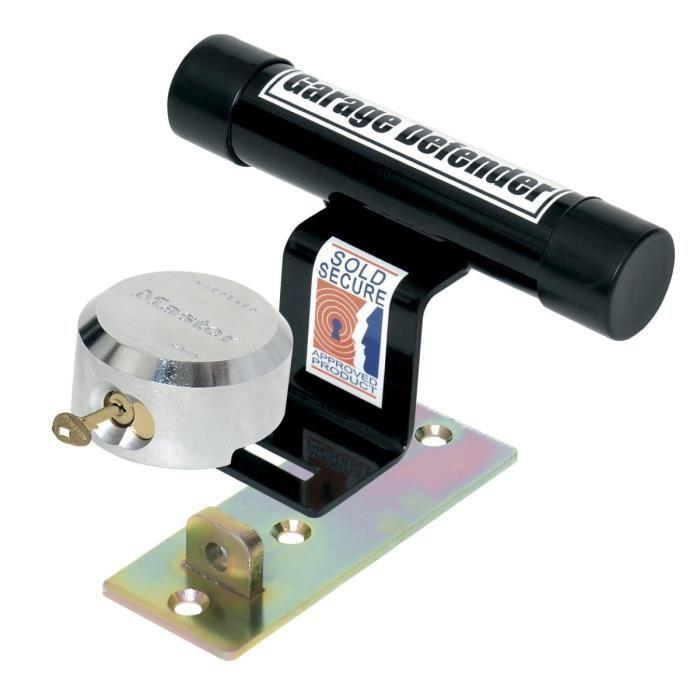 Master lock antivol pour porte de garage basculante 286881 for Alarme porte de garage basculante