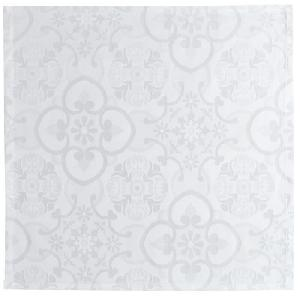Serviette De Table Vent Du Sud - 6 serviettes de table jacquard Faro 47 x 47 cm - Ecume