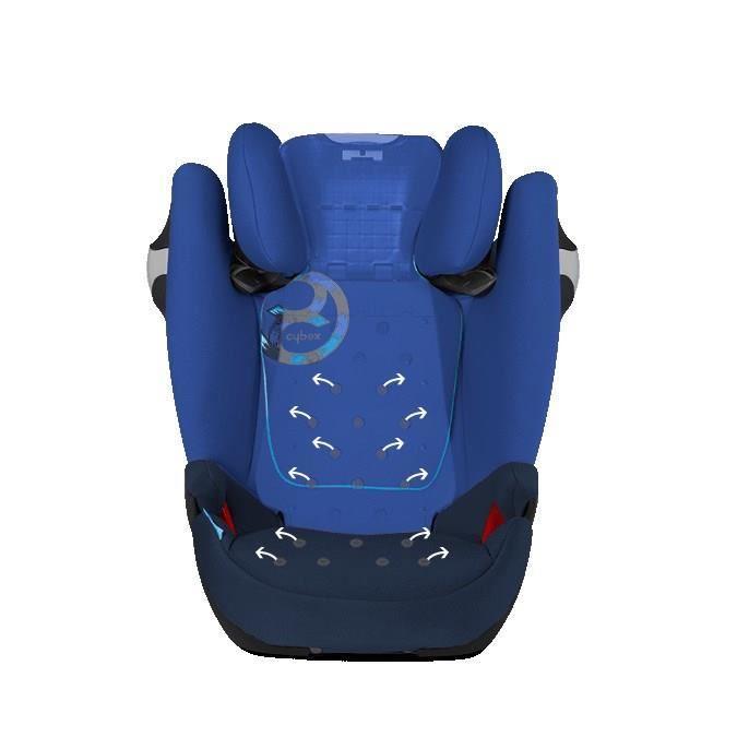 cybex cybex siege auto groupe 2 3 solution m fix royal blue 315467. Black Bedroom Furniture Sets. Home Design Ideas