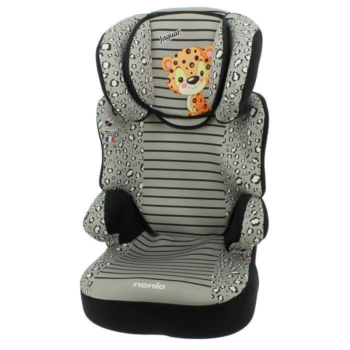 nania animal rehausseur dossier sans harnais befix sp gr 2 3 jaguar 361696. Black Bedroom Furniture Sets. Home Design Ideas