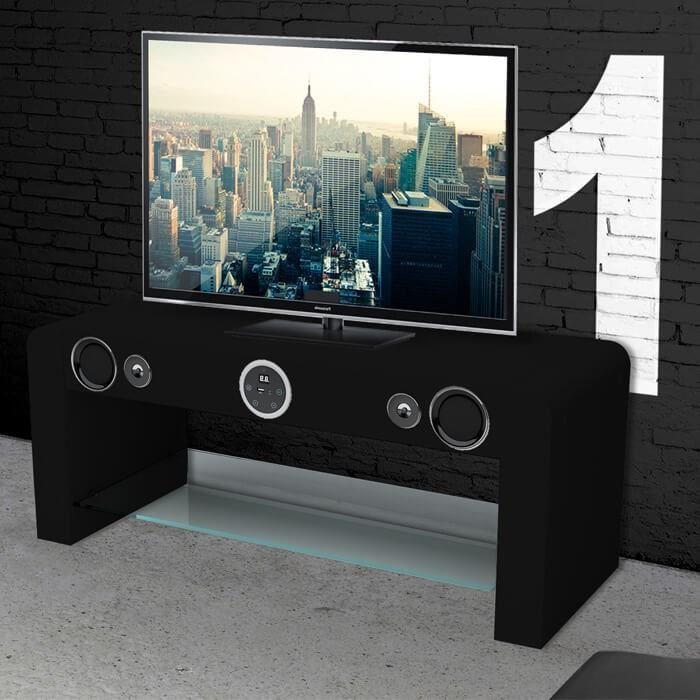 sound vision soundvision soundstand10 meuble tv hifi bluetooth 247653. Black Bedroom Furniture Sets. Home Design Ideas