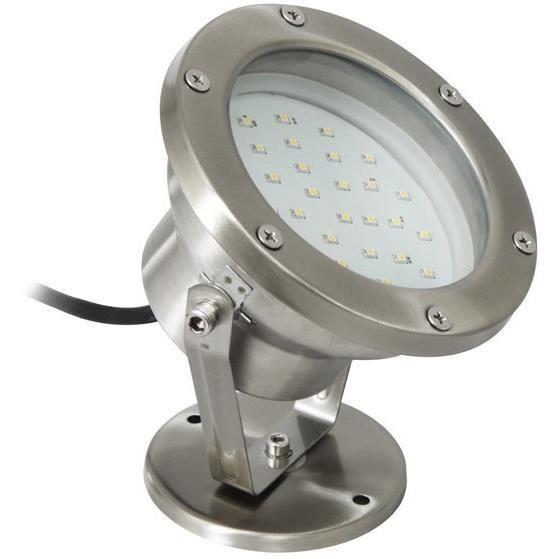 Ranex projecteur led submersible silvana en inox et verre for Spot inox exterieur