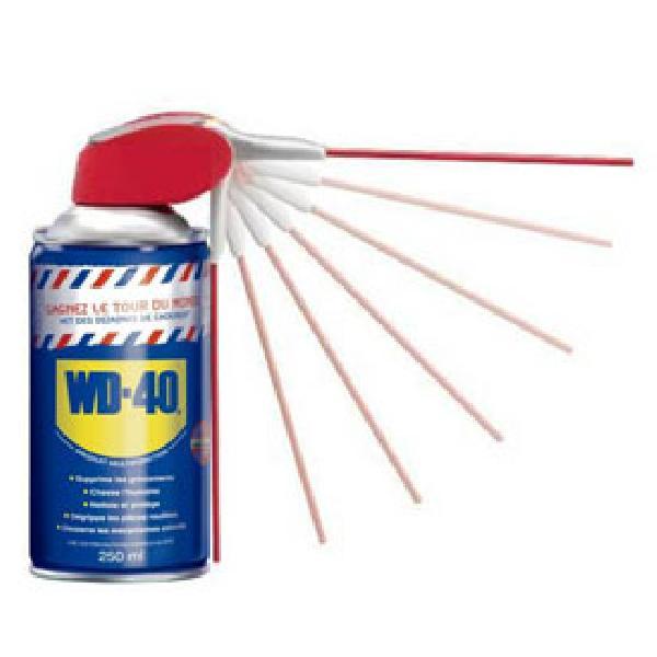 Spray multifonction WD40 250ml -aerosol