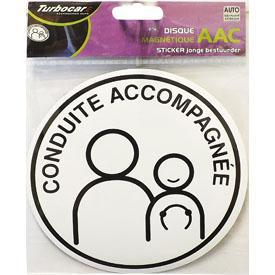stickers monocouleurs adnautomid disque magn tique c 397488. Black Bedroom Furniture Sets. Home Design Ideas