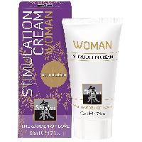 Stimulant pour femme Shiatsu - Creme Stimulation pour Femme - 50 ml